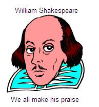 Shakespeare image and anagram