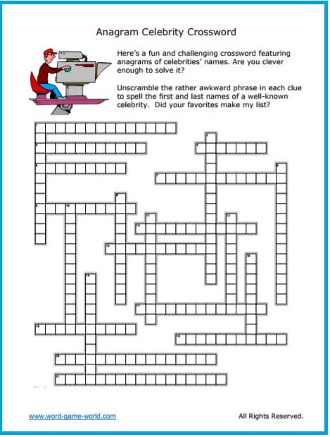 anagram crossword grid