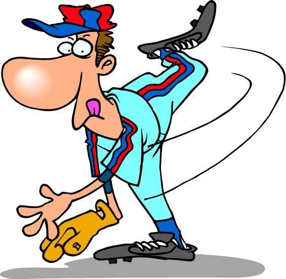 Goofy baseball pitcher, from our mind memory games