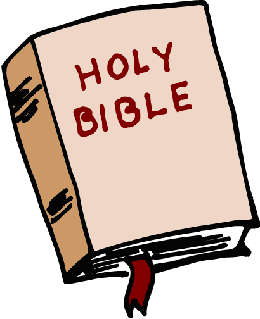 Bible graphic with cross
