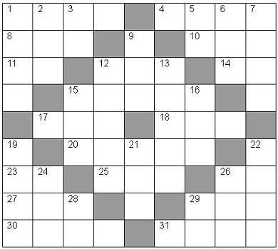 Use Our Blank Crossword Puzzles To Make Your Own Custom Word Games