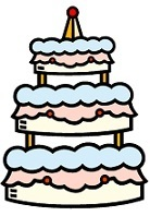 Wedding Cake for Bridal shower games & activities