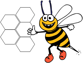 Buzzword Logo Bee