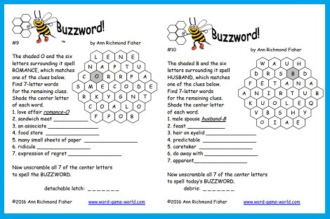 Buzzwords 9 and 10