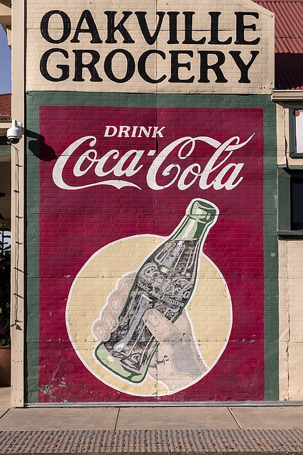 CocaCola Sign from our