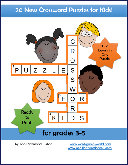 Crossword Puzzles for Kids eBook cover