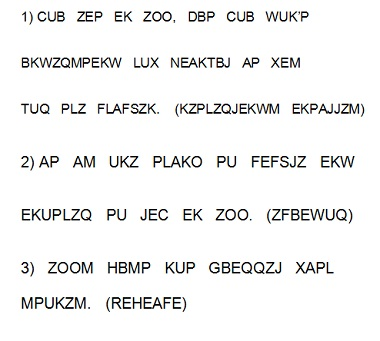 weekly cryptogram puzzle