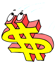 Animated Dollar Sign, from our fun Games For Your Brain.