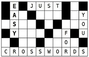 crossword diagram