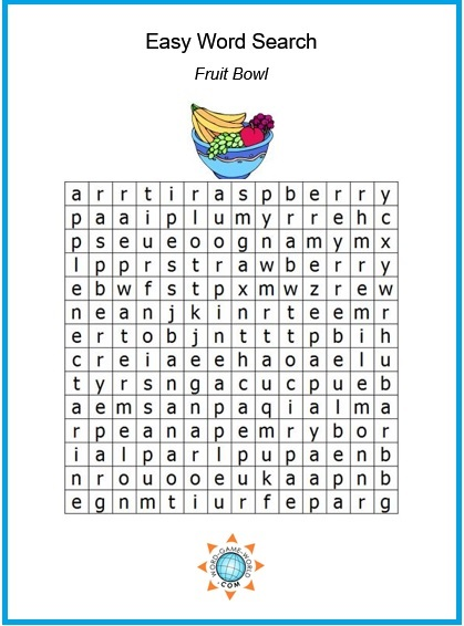 Word Search Printables
