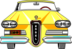yellow Edsel