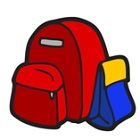 backpack and lunch bag