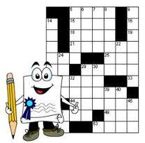 crossword puzzle cartoon writer