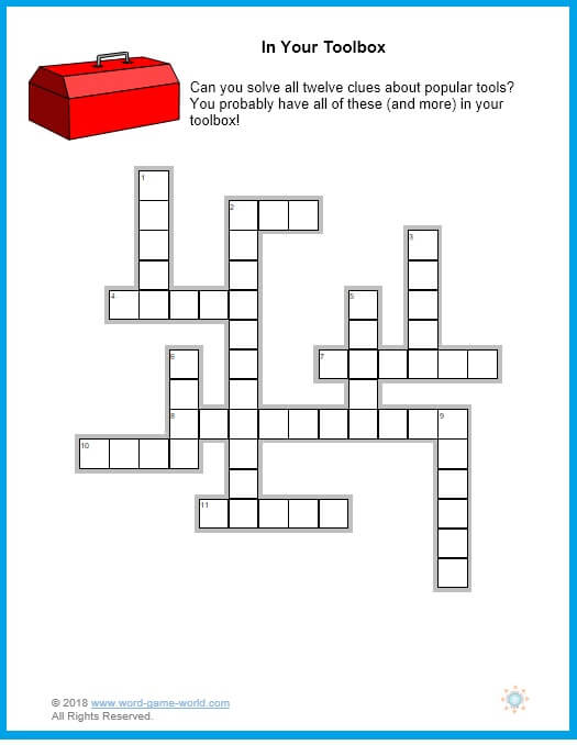 picture about Easy Crossword Puzzle Printable referred to as Printable Straightforward Crosswords for Grown ups