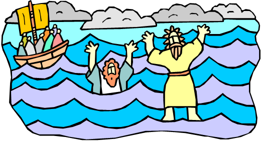 Jesus Walks on Water - Bible Coloring Pages for Kids