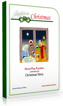 Our Joyous Christmas Word Play Puzzlers provides you with lots of great ways to celebrate the True Meaning of Christmas! Word games are great for many ages.