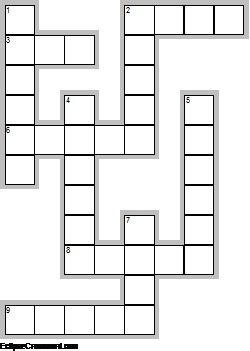 kids crossword diagram