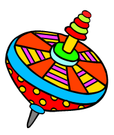 a spinning top