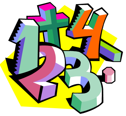 Colorful block numbers