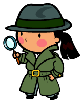 young girl detective