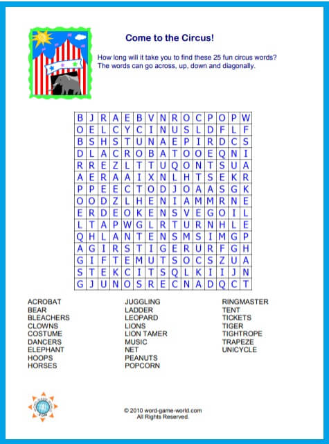 photo about Printable Word Finds named Our Printable Phrase Unearths Are Pleasurable for All Ages!