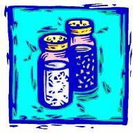 two spice jars