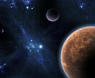 planets in outer space