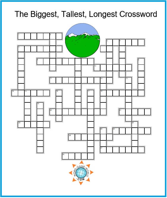 Free Crossword Puzzle Games Can You Solve This One