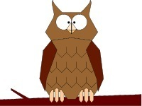 Wise Owl from our Bible Word Puzzles