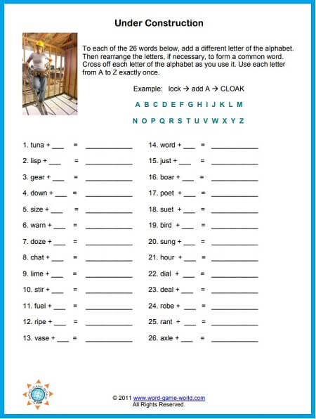 picture regarding Printable Word Puzzles for Adults named Phrase Puzzles Printable , Enjoyment and Absolutely free