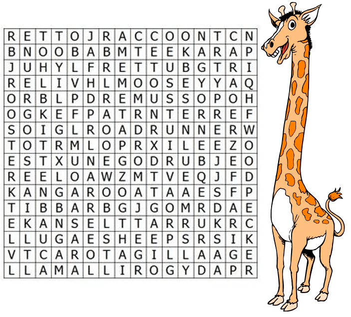 how to find words in a word search